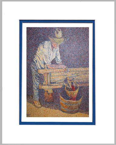 Wine Maker Matted Print
