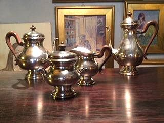 Buccellati Vintage Sterling Silver 4 Piece Coffee set