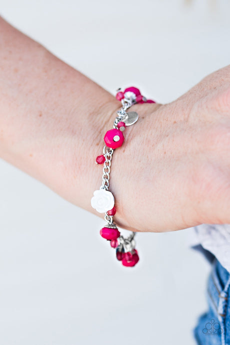 Paparazzi Jewelry & Accessories - Spoken For - Pink Bracelet. Bling By Titia Boutique