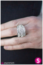 Load image into Gallery viewer, Paparazzi Accessories - The Millionaires Club - Silver Ring