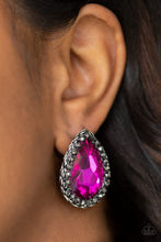 Load image into Gallery viewer, Paparazzi Jewelry & Accessories - Dare To Shine - Pink Earrings. Bling By Titia Boutique