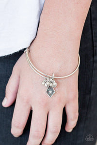 Paparazzi Jewelry & Accessories - Treasure Charms - White Bracelet. Bling By Titia Boutique