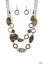 Load image into Gallery viewer, Paparazzi Jewelry & Accessories - Trippin On Texture - Multi Necklace. Bling By Titia Boutique