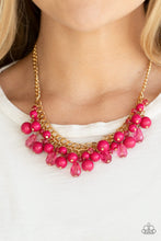 Load image into Gallery viewer, Paparazzi Accessories - Tour de Trendsetter - Pink Necklace