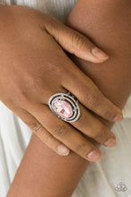 Load image into Gallery viewer, Paparazzi Jewelry & Accessories - Making History - Pink Ring. Bling By Titia Boutique