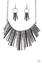 Load image into Gallery viewer, Welcome To The Pack - Black Fringe Paparazzi Jewelry Necklace paparazzi accessories jewelry necklace