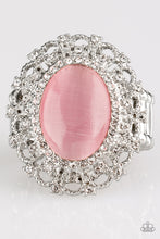 Load image into Gallery viewer, Paparazzi Jewelry & Accessories - BAROQUE The Spell - Pink Ring. Bling By Titia Boutique