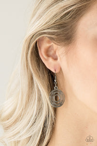 Paparazzi Jewelry & Accessories - SOL-Mates - Black Earrings. Bling By Titia Boutique