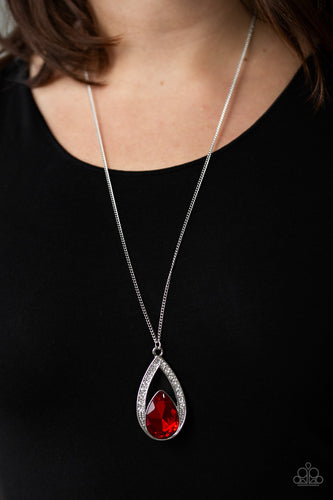Paparazzi Jewelry & Accessories - Notorious Noble - Red Necklace. Bling By Titia Boutique