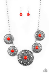 Paparazzi Jewelry & Accessories - Hey, SOL Sister - Red Necklace. Bling By Titia Boutique