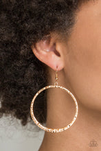 Load image into Gallery viewer, Paparazzi Accessories - So Sleek - Gold Earrings