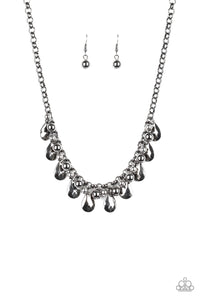 Paparazzi Jewelry & Accessories - Stage Stunner - Black Necklace. Bling By Titia Boutique