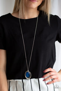 Paparazzi Jewelry & Accessories - Metro Must Have - Blue Necklace. Bling By Titia Boutique