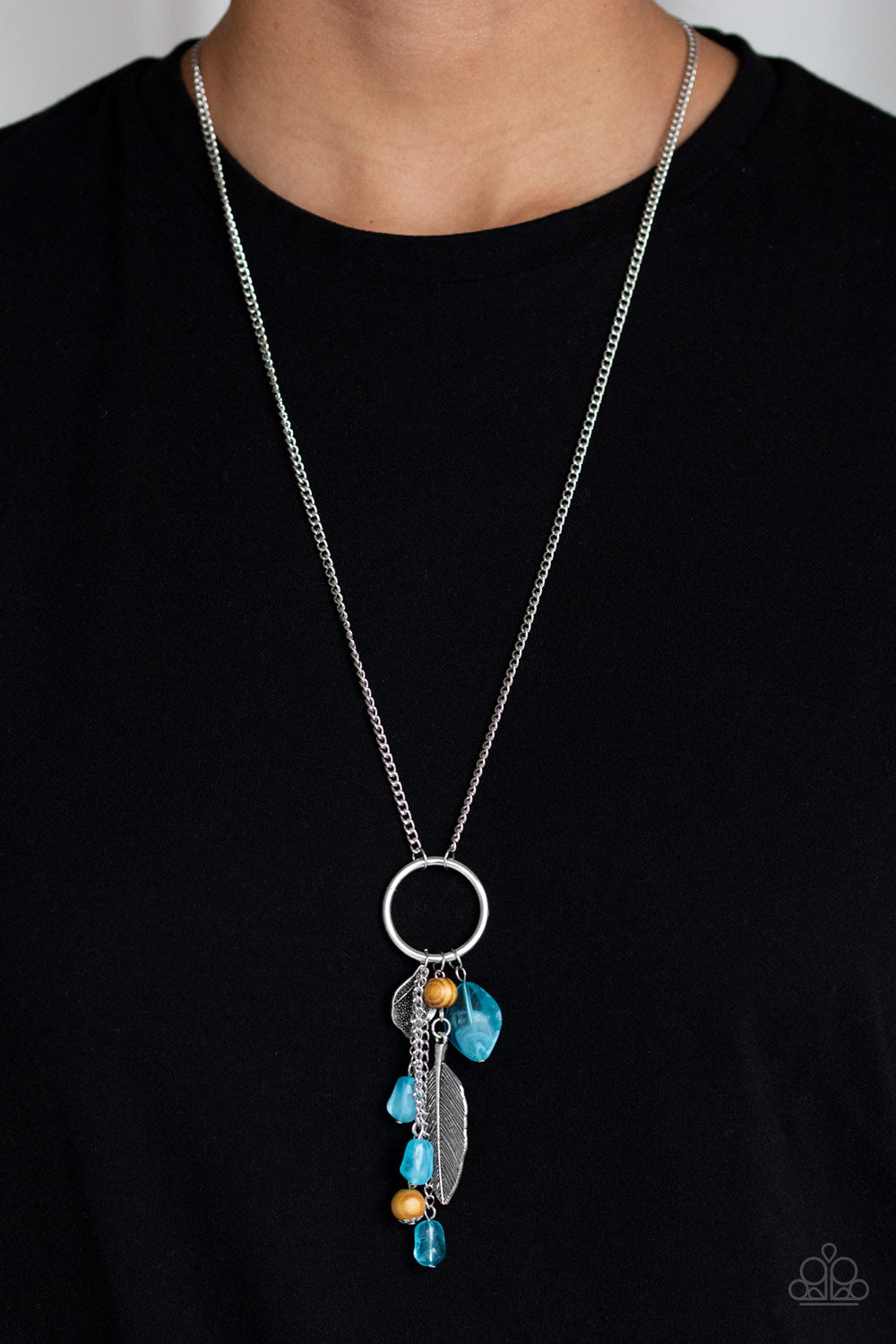 Paparazzi Jewelry & Accessories - Sky High Style - Blue Necklace. Bling By Titia Boutique