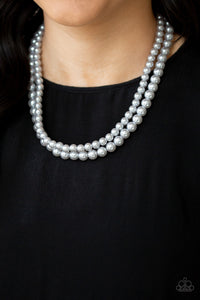 Paparazzi Jewelry & Accessories - Woman Of The Century - Silver Necklace. Bling By Titia Boutique