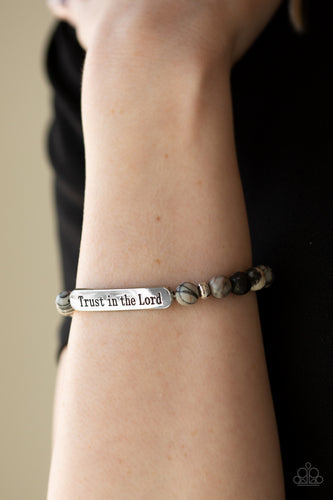 Paparazzi Accessories - Trust Always - Black Bracelet