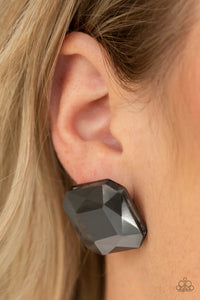 Paparazzi Accessories - Show Glow - Black Earrings