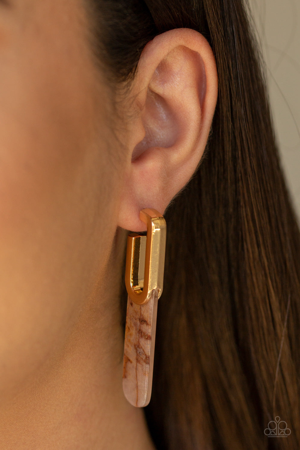 Paparazzi Accessories - HAUTE Off The Press - Multi Earrings