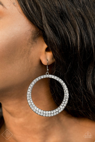Paparazzi Accessories - So Demanding - Gunmetal Earrings