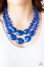 Load image into Gallery viewer, Paparazzi Jewelry & Accessories - Beach Glam - Blue Necklace. Bling By Titia Boutique