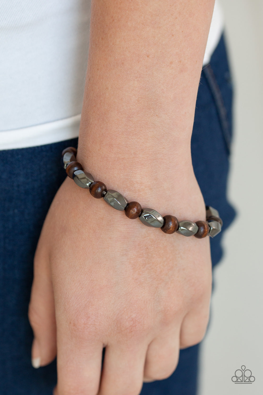 Paparazzi Jewelry & Accessories - Resilient - Brown Bracelet. Bling By Titia Boutique
