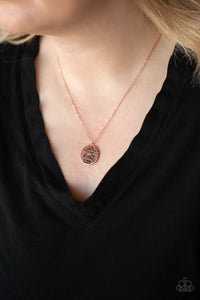 Paparazzi Accessories - Let Your Light So Shine - Copper Necklace