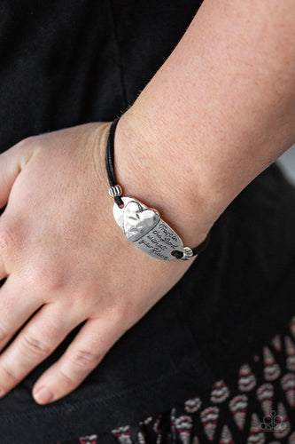 Paparazzi Accessories - A FULL Heart - Silver Bracelet