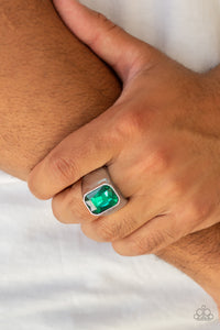 Paparazzi Accessories - Scholar - Green Ring