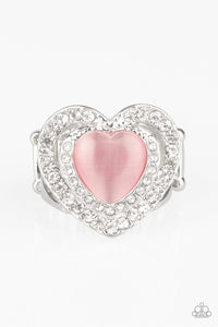 Paparazzi Accessories - What The Heart Wants - Pink Ring