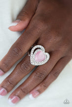 Load image into Gallery viewer, Paparazzi Accessories - What The Heart Wants - Pink Ring