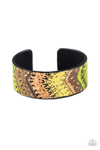 Paparazzi Jewelry & Accessories - Come Uncorked - Green Cork Bracelet. Bling By Titia Boutique