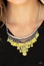 Load image into Gallery viewer, Paparazzi Jewelry & Accessories - Rio Rainfall - Yellow Necklace. Bling By Titia Boutique
