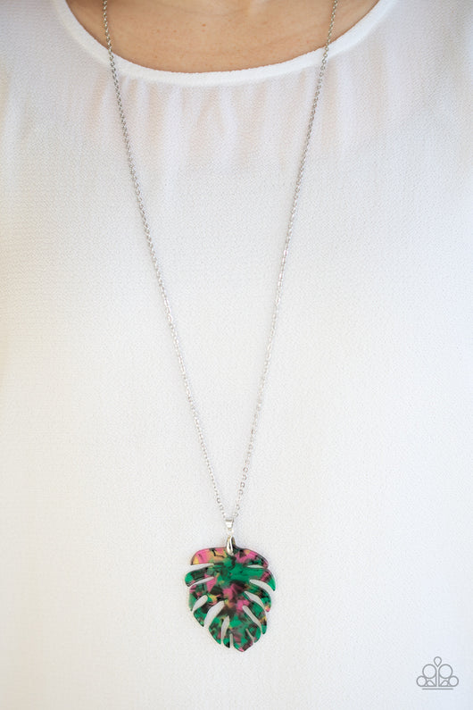 Green Holiday Party Prom Necklace Green Iris Crystal Necklace N769 Green /& Gold link Necklace Green Necklace