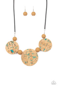 Paparazzi Jewelry & Accessories - Pop The Cork - Blue Necklace. Bling By Titia Boutique