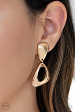 Load image into Gallery viewer, Paparazzi Jewelry & Accessories - Going for Broker - Gold Earrings. Bling By Titia Boutique