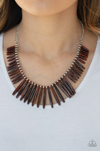 Load image into Gallery viewer, Paparazzi Jewelry & Accessories - Out of My Element - Brown Necklace. Bling By Titia Boutique