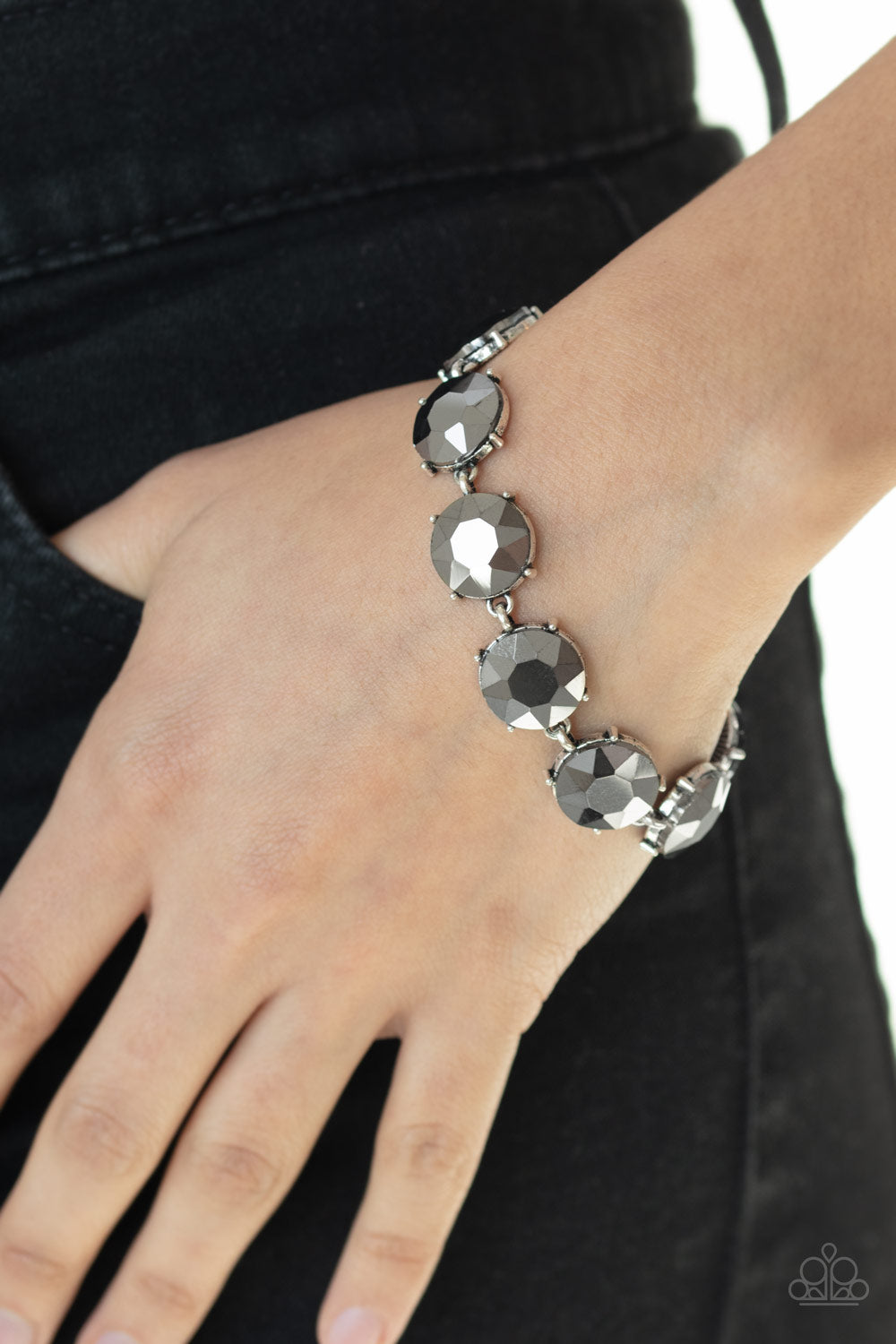 Paparazzi Jewelry & Accessories - Fabulously Flashy - Silver Bracelet. Bling By titia Boutique