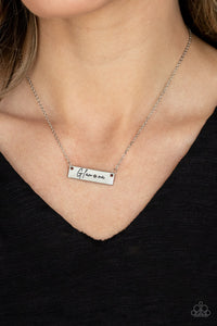 Paparazzi Jewelry & Accessories - The Glam-ma - Silver Necklace. Bling By Titia Boutique