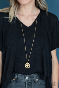 Paparazzi Jewelry & Accessories - Always A Mother, Forever My Friend - Gold Necklace. Bling By Titia Boutique