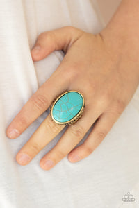 Paparazzi Jewelry & Accessories - Stonehenge Garden - Brass Ring. Bling By Titia Boutique