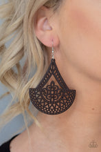 Load image into Gallery viewer, Paparazzi Jewelry & Accessories -Tiki Sunrise - Brown Earrings. Bling By Titia Boutique