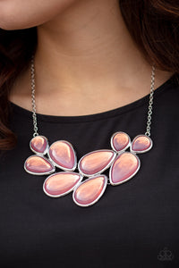 Paparazzi Jewelry & Accessories - Iridescently Irresistible - Pink Necklace. Bling By Titia Boutique