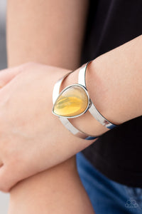 Paparazzi Jewelry & Accessories - Optimal Opalescence - Yellow Bracelet. Bling By Titia Boutique