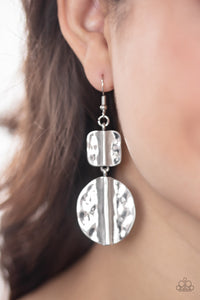 Paparazzi Jewelry & Accessories - Lure Allure - Silver Earrings. Bling By Titia Boutique