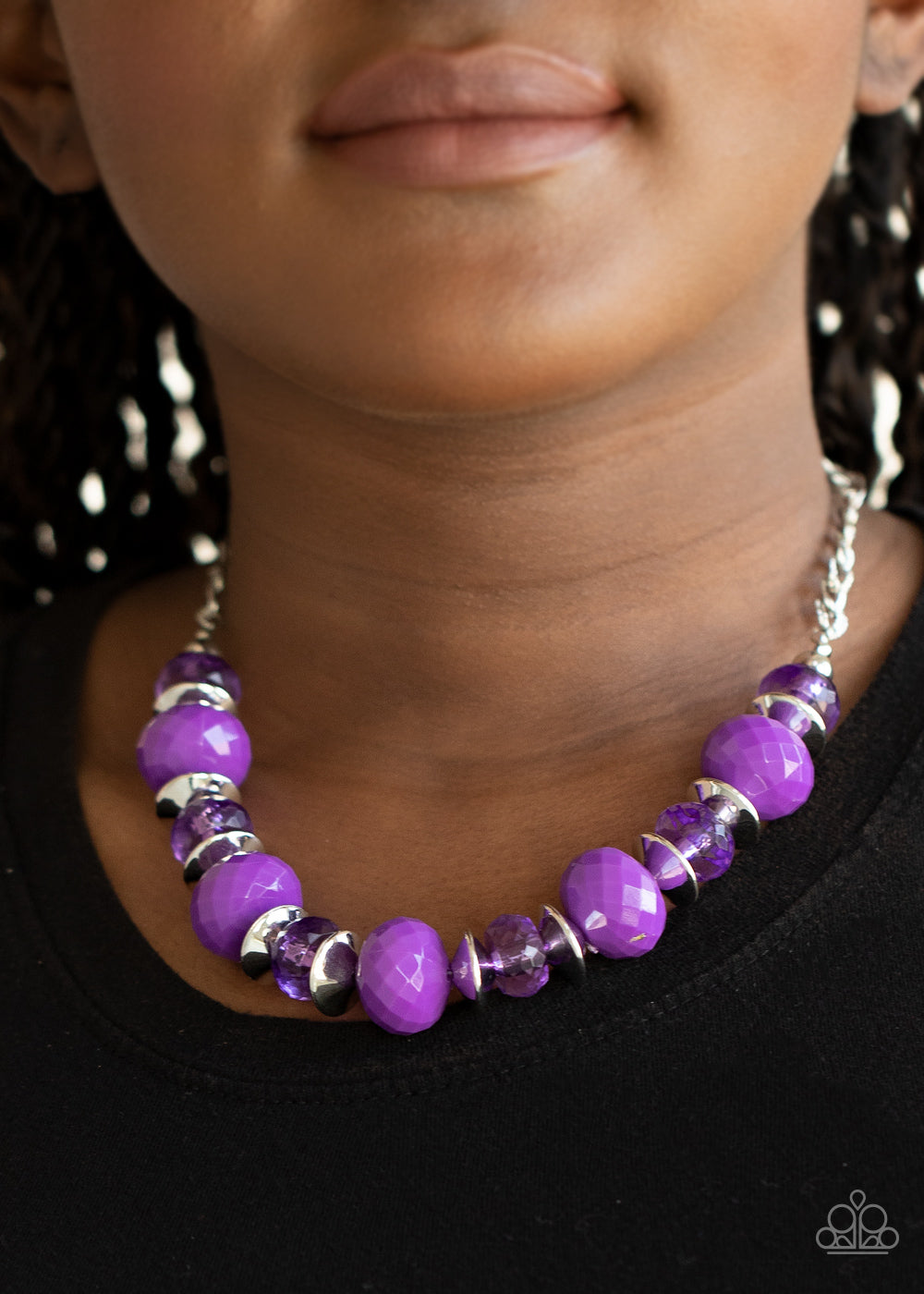 Paparazzi Jewelry & Accessories - Hollywood Gossip - Purple Necklace. Bling By Titia Boutique
