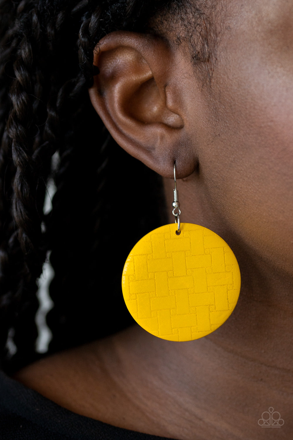 Paparazzi Jewelry & Accessories - Natural Novelty - Yellow Earrings. Bling By Titia Boutique