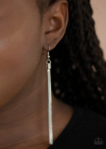 Paparazzi Jewelry & Accessories - Swing Into Action - Silver Earrings. Bling By Titia Boutique