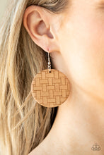 Load image into Gallery viewer, Paparazzi Jewelry & Accessories - Natural Novelty - Brown Earrings. Bling By Titia Boutique