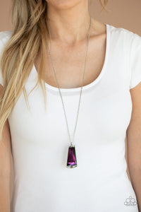 Paparazzi Jewelry & Accessories - Empire State of Elegance - Purple Necklace. Bling By Titia Boutique