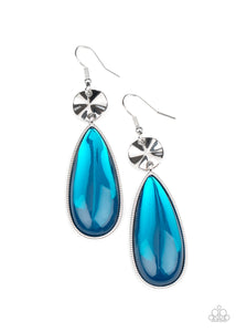 Paparazzi Jewelry & Accessories - Jaw-Dropping Drama - Blue Earrings. Bling By Titia Boutique